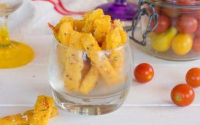 RECETTE DU MOMENT – Les fingers de Polenta au Parmesan